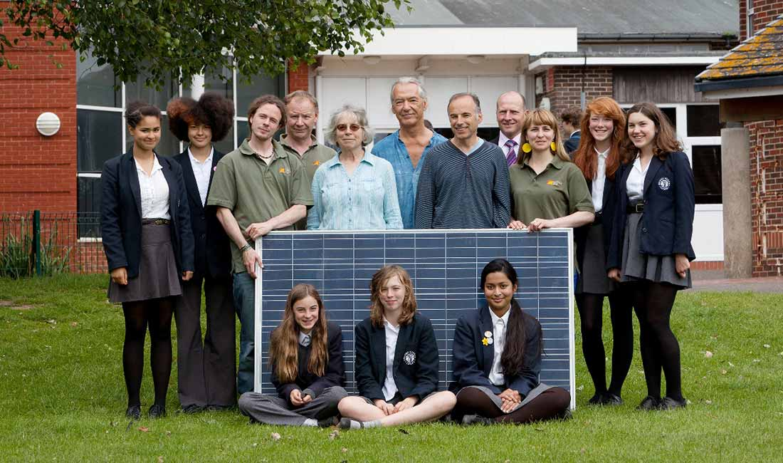 Priory School Lewes Solar Panels OVESCO Community Energy image